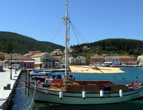 Fiscardo in April