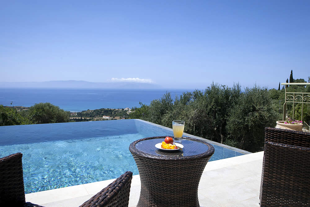 Asteri infinity pool view
